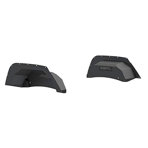 Aries 2500350 Jeep Inner Fender Liner (Rear, Powder-Coated Aluminum)