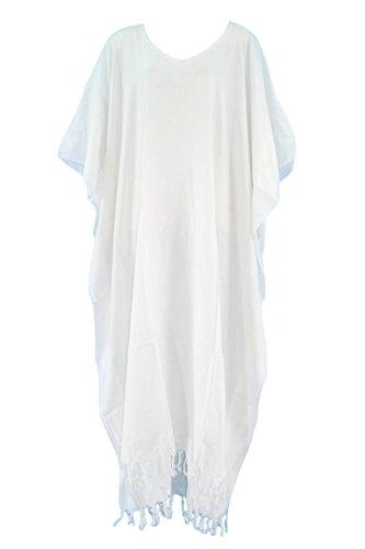 Beautybatik Damen Damen Weiß Weiß Kleid Kleid Damen Beautybatik Beautybatik Weiß Beautybatik Damen Kleid Kleid ASnw1q510