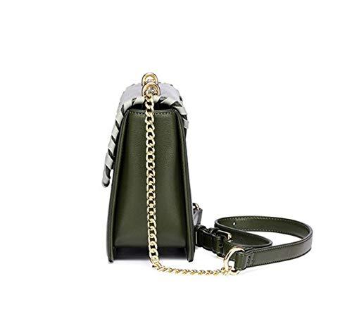 Main Bag À Filles KOKR Femmes pour À Wrap Women Les Retro Chain Sac Chain Datant Sac Sac 'S Messenger Wrap Bandoulière xwApF
