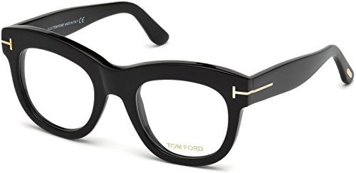 Tom Ford FT5493 Eyeglasses w/Demo Clear Lens (Shiny - Tom Ford Cost