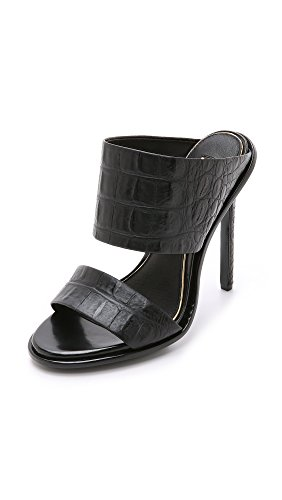 Rachel Zoe Womens Coraline Dress Sandal Black 7 M US
