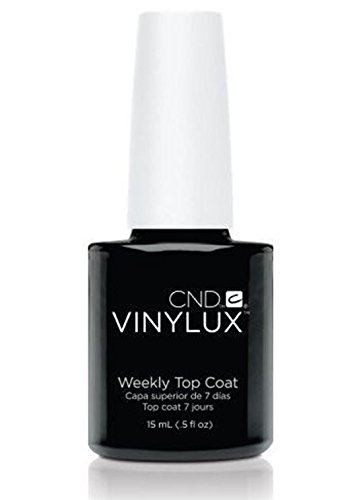 1 Pc Bright Popular Nail Polish Lacquer Vinylux DIY Tips Uniquely Designed Non-Toxic Weekly Top Coat Volume 0.5 oz / 15ml