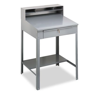 TENNSCO SR57MG Open Steel Shop Desk, 34-1/2w x 29d x 53-3/4h, Medium ()
