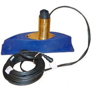 (SI-TEX 496/50/200ST Bronze Thru-Hull Triducer w/Fairing Block)