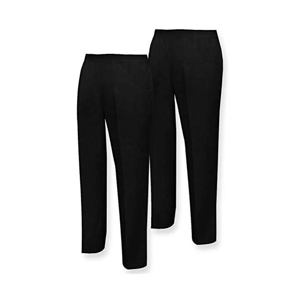 MISEMIYA Pantalón Sanitarios Unisex Trabajo (Pack de 2) para Hombre 1