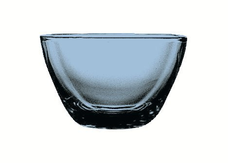 Mepra Polycarbonate Square Bowl for Baby (Sapphire) 230590Z
