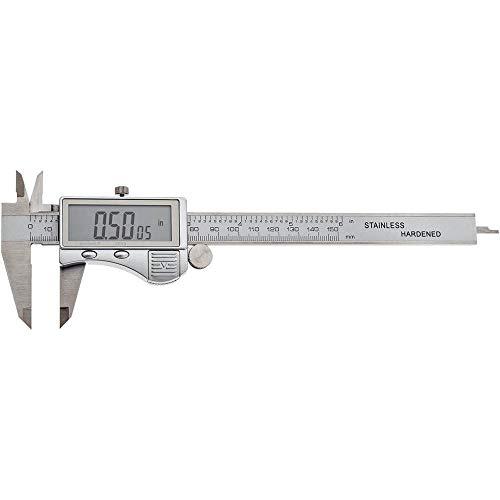 Shop Fox D4776 Decimal/Fractional Digital Caliper
