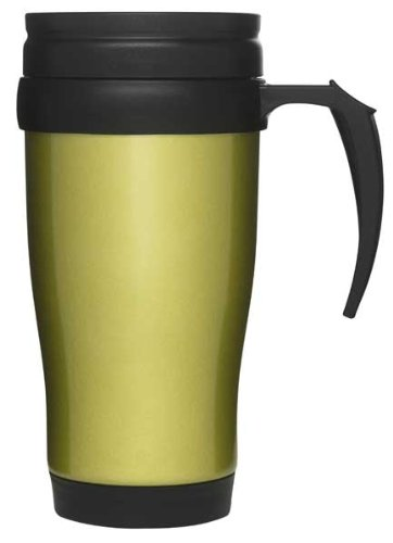 Sagaform De Inox Cl Voiture Mug Acier 50 Poignée Avec Vert 5AL34jR