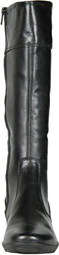 Imac Mujeres 52368 Botas De Cuero De Moda Made In Italy Black.
