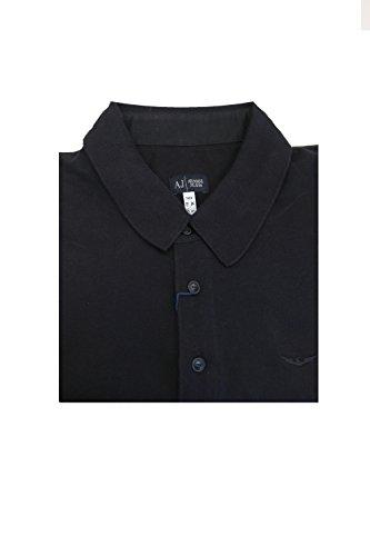 Armani Jeans Polo Dress Shirt Black