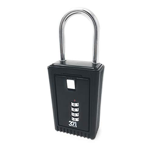 Key Lock Box LB-20. Realtor Lock Box for Outdoor Real Estate. Door Mount lockboxs for House with Master Code Security Combination.Hide a Key Outside (Kingdom Hearts House Key)