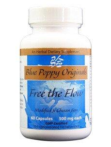 Flow 60 Caps - Blue Poppy- Free the Flow 60 caps