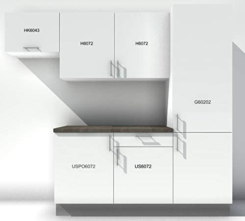 Atelier des Rocailles Cocina Completa – Pas en Kit – Muebles assemblés Listo para Mesa.: Amazon.es: Hogar