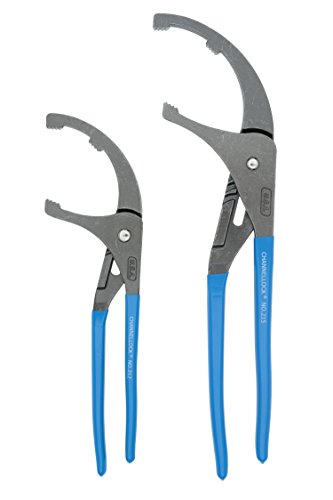 Channellock OF-1 2-Piece Oil Filer/PVC Plier Gift Set: 12-Inch and ()