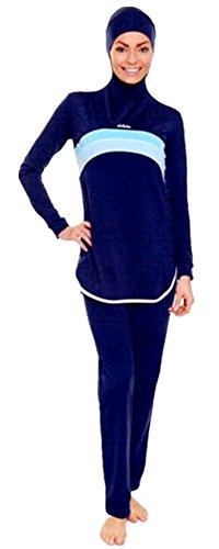 Flavor In Gentle Deluxe Modest Muslim Swimwear Islamic Swimsuit For Women Hijab Swimwear Full Coverage Muslim Swimming Beachwear Swim Suit Fragrant