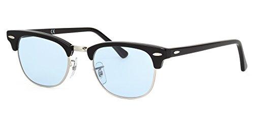 [레이밴 국내 정규품 판매 인정점] 레이밴 안경 프레임 클럽 마스터 RX5154 2000 49사이즈 / 51사이즈 라이트 컬러 렌즈 세트 썬글라스 안심 자외선 컷부 Ray-Ban CLUB MASTER CLUBMASTER LIGHT COLORS