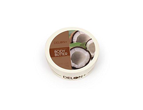 Delon Coconut Body Butter, Coconut, 6.8 (Coconut Body Butter)