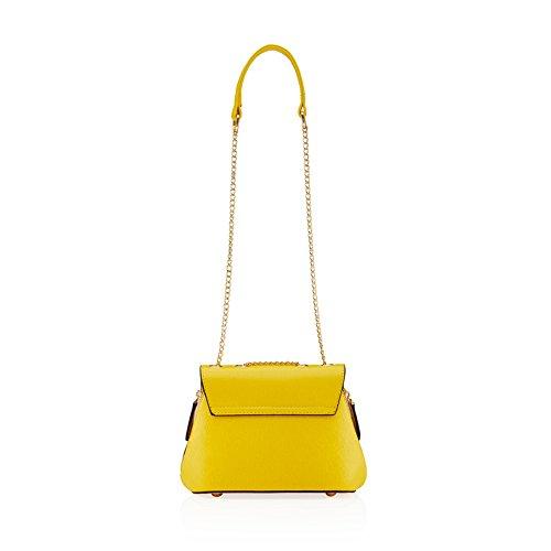barbie BBFB236 bolso para chicas bolso bandolera de simple estilo moderno de diversos colores amarillo