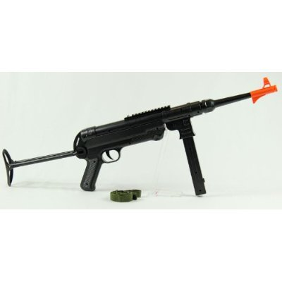 double eagle mp40 with laser! wwii spring airsoft machine gun rifle airsoft gun(Airsoft Gun) (Mp40 Airsoft)