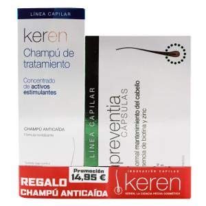 Pack Keren Preventia 30 Capsulas+Champu 200ml