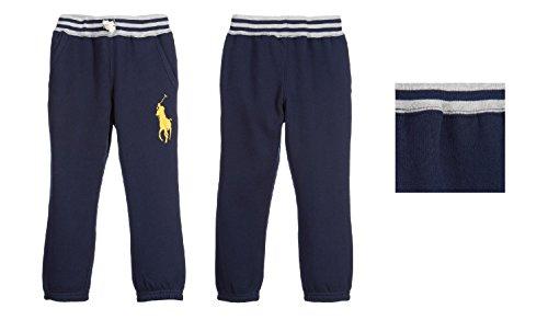 Polo Ralph Lauren Boys Navy Blue 'Big Pony' Tracksuit Pants - Tracksuit Ralph Men Polo Lauren