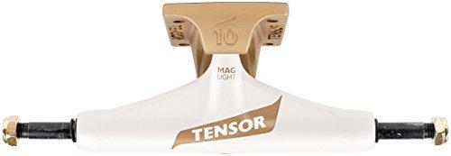 Tensor 10415192 Mag Light Reg Flick White/Gold 5.5 Trucks [並行輸入品]   B06XFQWRVD