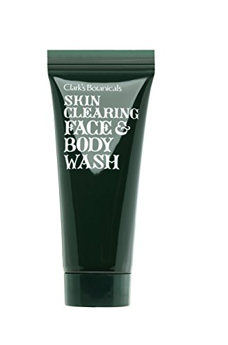 Clarks Botanicals Skin Care - Clark's Botanicals Skin Clearing Face and Body Wash with Salicylic Acid for Oily and Problem Skin, 7.4 fl. oz