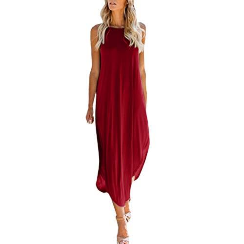 Sling Dress Ladies Solid Color Cardigan Long Dress Casual Loose Sleeveless Large Size Beach Dress MEEYA - Georgette Cardigan Trim