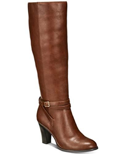 Giani Bernini Womens Beckyy Almond Toe Knee High Fashion Boots, Cognac, Size 9.0 from Giani Bernini