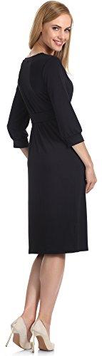 Merry Style Vestido para Mujer Karen Negro