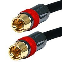 Monoprice 15ft Coaxial Audio/Video RCA CL2 Rated Cable - RG6/U 75ohm (for (Rca Cable Cl2)