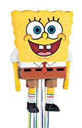 [SpongeBob SquarePants Pinata, Pull String] (Spongebob Squarepants Child Costumes)