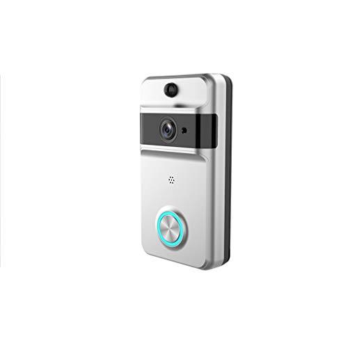WiFi Visual doorbell, Surveillance doorbell Camera, Phone Monitor/Infrared Night Vision/Video talk-back/waterproof/720P,B