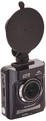 AUSDOM Dash Cam A261, 1080P&1296P Car Cmera Dvr with GPS, G-Sensor,WDR for Auto Record, 2 Inch View Screen Auto Car Dashboard Camera