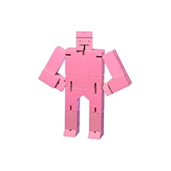 Areaware Small Cubebot Pink Puzzle