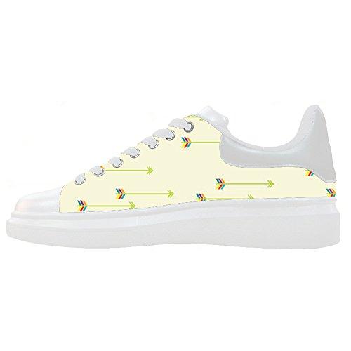 Scarpe Women's Scarpe Le Schema Freccia Shoes Canvas Custom wYEa0gq4