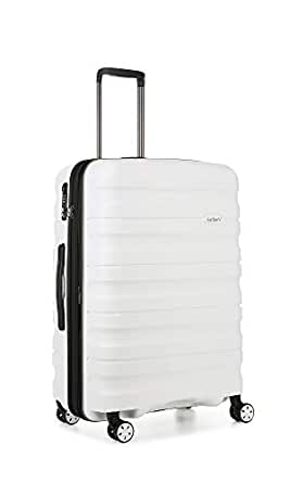 Antler 4227100016 Juno 2 4W Medium Roller Case Suitcases (Hardside), White, 68 cm