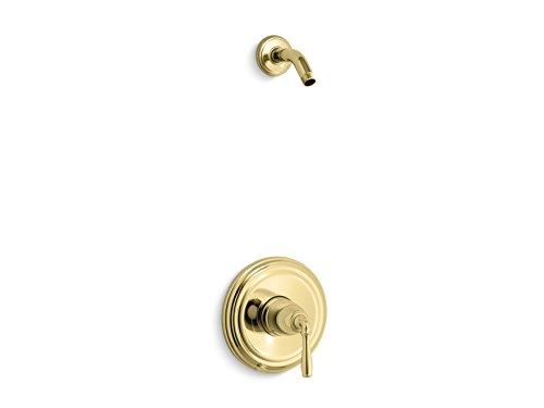 - KOHLER TLS396-4-PB Devonshire(R) Rite-Temp(R) shower valve trim with lever handle, less showerhead