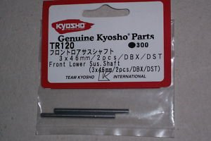 Kyosho Tr120 Front Lower Susp. Shaft 3x46mm (Kyosho Front Suspension)