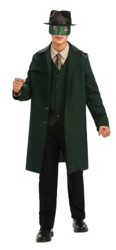 [Rubie's Costume Co DLX Hornet Costume, Green, Standard, Green, Standard] (Green Hornet Teen Costumes)