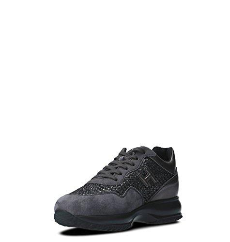 Hogan Vrouwen Hxw00n0w660h4c0w98 Grijs Suède Sneakers