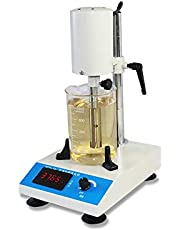 INTBUYING 220V Adjustable High Speed Emulsifying Homogenizer Laboratory Dispenser for Lab Homogenizer Mixe RCD-1A