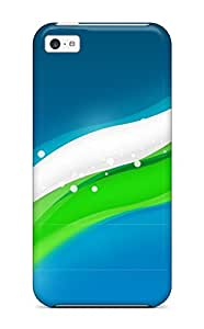 Dixie Delling Meier's Shop Hot Shock-dirt Proof Abstract Green Case Cover For Iphone 5c 2922739K40044154
