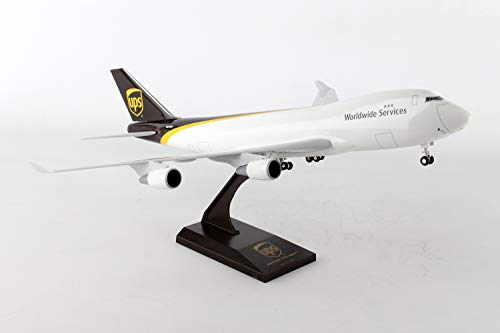 Daron Skymarks Ups 747-400F Airplane Model Building Kit with Gear 1/200-Scale