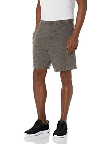 Hanes Men's Jersey Short with Pockets, Camo Green