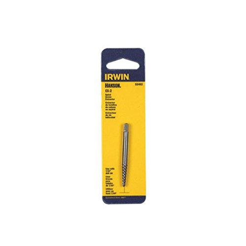 Hanson Spiral Screw Extractor EX-2 Bulk-Mfg# 53402 - Sold As 15 Units (Ex2 Spiral)