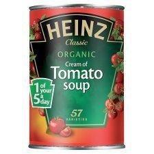 Heinz Organic Cream Of Tomato Soup 400G