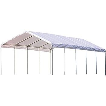 ShelterLogic SuperMax Canopy 18 X 20 Ft. Sc 1 St Amazon.com  sc 1 st  memphite.com & 18 X 20 Canopy u0026 ... ShelterLogic 18X20 Peak Style Shelter ...