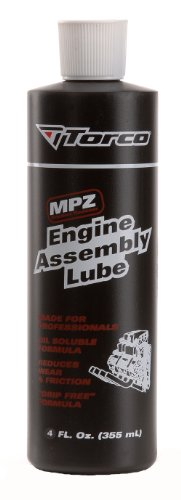 Torco Mpz Engine Assembly - Torco A550055JE MPZ Engine Assembly Lube - 4 oz. Bottle