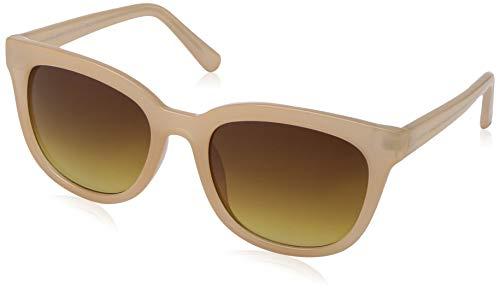 Lucky Women's Newb Rectangular Sunglasses, Blush, 55 mm